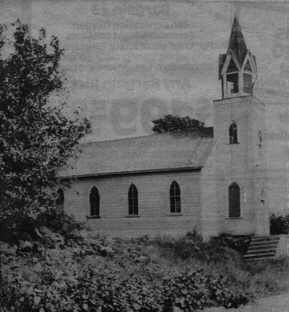 The first St. Ann's Catholic Church