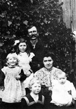 Henry and May Bose and children