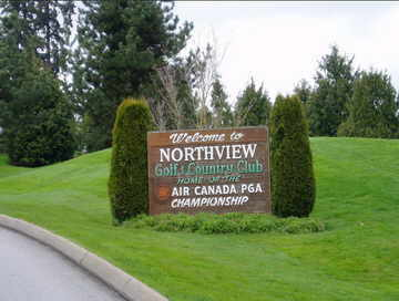 Entry to Northview Golf Course