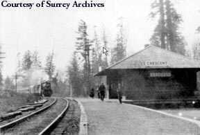 Crescent Beach Station 1928