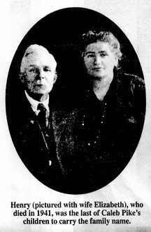 Henry and Elizabeth Pike