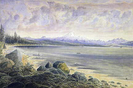 A picture of Semiahmoo Bay