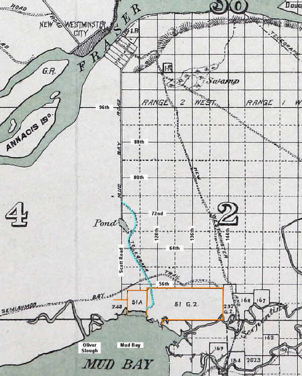 Roads and trails by 1889