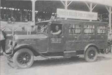 Fraser Valley book van