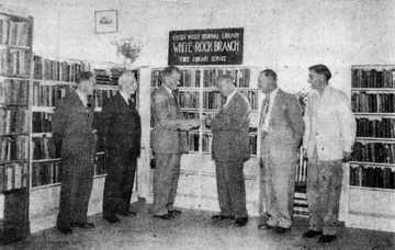 Opening of White Rock Library