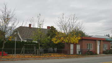Side view of the O'Brien home