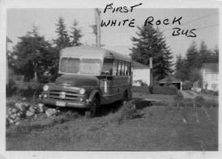 The 1st White Rock Bus