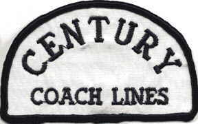 Century Coach sholder patch