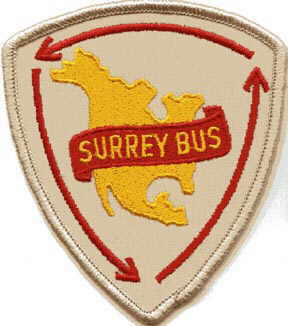 Surrey Bus sholder patch