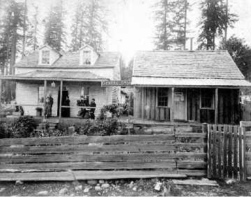 "Abraham Huck""s home and store"