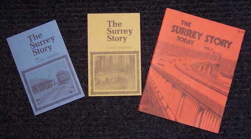 Three volumes of the Surrey Story
