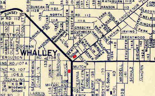 Whalley Library's early locations