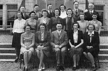 Queen Elizabeth Staff 1940