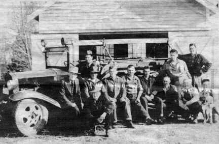 Old time Sullivan firefighters