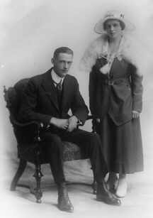Cecil and Gertrude Collishaw