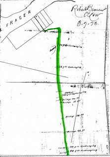 Map of north section Semiahmoo Road