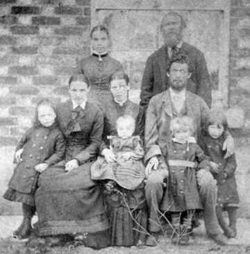 William Woodward's family
