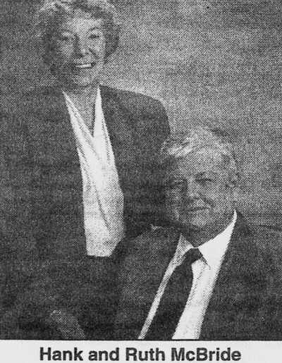 Hanford and Ruth McBride