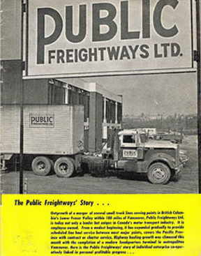 Public Freightways bill board